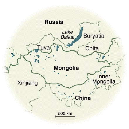 Map Of Asia In 500 Ad.Map Of Inner Asia Mongolian Digital Ethnography Archive